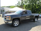 2014 Tungsten Metallic Chevrolet Silverado 1500 LT Double Cab 4x4 #95781357
