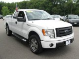 2010 Oxford White Ford F150 STX SuperCab 4x4 #95781504