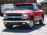 1999 Victory Red Chevrolet Silverado 1500 LS Regular Cab 4x4 #9563214
