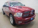 2012 Deep Molten Red Pearl Dodge Ram 1500 Sport Crew Cab 4x4 #95781277
