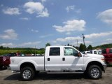 2015 Oxford White Ford F250 Super Duty XLT Crew Cab 4x4 #95801051