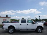 2015 Oxford White Ford F250 Super Duty XLT Crew Cab 4x4 #95801048
