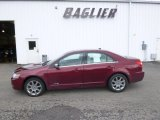 2007 Vivid Red Metallic Lincoln MKZ AWD Sedan #95804473