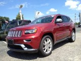 2014 Deep Cherry Red Crystal Pearl Jeep Grand Cherokee Summit 4x4 #95804093