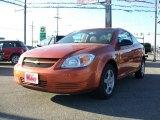 2007 Sunburst Orange Metallic Chevrolet Cobalt LS Coupe #9564591