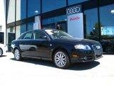 2008 Brilliant Black Audi A4 2.0T quattro Sedan #9563693