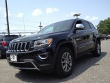 2014 Black Forest Green Pearl Jeep Grand Cherokee Limited 4x4 #95831565