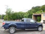 2014 Blue Flame Ford F150 XLT SuperCab 4x4 #95831692