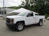 2014 Summit White Chevrolet Silverado 1500 WT Regular Cab 4x4 #95831671