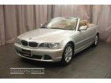 2006 Titanium Silver Metallic BMW 3 Series 325i Convertible #9461660