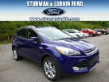 2014 Deep Impact Blue Ford Escape Titanium 2.0L EcoBoost 4WD #95831728