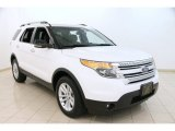2013 Oxford White Ford Explorer XLT 4WD #95831930