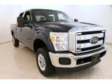 2014 Blue Jeans Metallic Ford F250 Super Duty XLT Crew Cab 4x4 #95831928