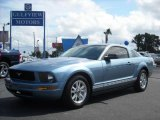 2007 Windveil Blue Metallic Ford Mustang V6 Premium Coupe #9106785