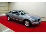 2007 Windveil Blue Metallic Ford Mustang V6 Deluxe Coupe #9508150