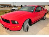 2007 Torch Red Ford Mustang V6 Deluxe Coupe #9335740