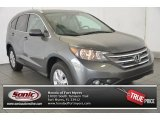 2014 Polished Metal Metallic Honda CR-V EX-L #95831571