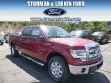 2014 Ruby Red Ford F150 XLT SuperCrew 4x4 #95868555