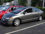 2006 Galaxy Gray Metallic Honda Civic LX Sedan #9196346