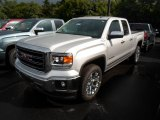 2014 Quicksilver Metallic GMC Sierra 1500 SLT Double Cab 4x4 #95868776