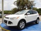2014 Oxford White Ford Escape SE 1.6L EcoBoost #95868528