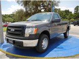 2014 Sterling Grey Ford F150 XL Regular Cab 4x4 #95868523