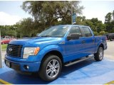 2014 Blue Flame Ford F150 STX SuperCrew #95868521