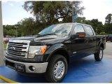 2014 Tuxedo Black Ford F150 Lariat SuperCrew 4x4 #95868517