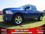 2014 Blue Streak Pearl Coat Ram 1500 Express Quad Cab #95868575