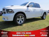 2014 Bright White Ram 1500 Sport Crew Cab 4x4 #95868574