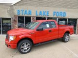 2014 Race Red Ford F150 STX SuperCab 4x4 #95906865