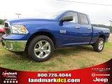 2014 Blue Streak Pearl Coat Ram 1500 Big Horn Quad Cab #95906552
