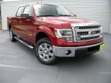 2014 Ruby Red Ford F150 XLT SuperCrew #95906631