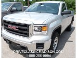 2014 Quicksilver Metallic GMC Sierra 1500 Regular Cab #95906762