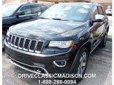 2014 Brilliant Black Crystal Pearl Jeep Grand Cherokee Overland 4x4 #95906753