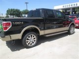 2014 Tuxedo Black Ford F150 King Ranch SuperCrew 4x4 #95906443