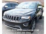 2014 Brilliant Black Crystal Pearl Jeep Grand Cherokee Limited 4x4 #95906752