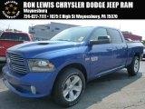 2014 Blue Streak Pearl Coat Ram 1500 Sport Crew Cab 4x4 #95906610