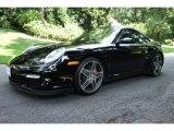 2007 Black Porsche 911 Turbo Coupe #95906437