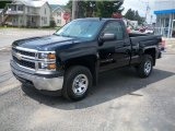 2014 Black Chevrolet Silverado 1500 WT Regular Cab 4x4 #95906430