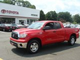 2011 Radiant Red Toyota Tundra SR5 Double Cab 4x4 #95906824