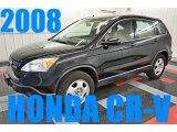 2008 Nighthawk Black Pearl Honda CR-V LX #95906343