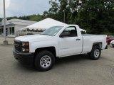2014 Summit White Chevrolet Silverado 1500 WT Regular Cab 4x4 #95946162