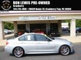 2013 Glacier Silver Metallic BMW 3 Series 335i xDrive Sedan #95946226