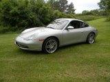 1999 Arctic Silver Metallic Porsche 911 Carrera 4 Coupe #95946415