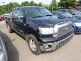 2008 Black Toyota Tundra SR5 Double Cab 4x4 #95946562