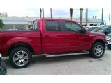 2014 Ruby Red Ford F150 Lariat SuperCrew #95946102