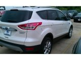 2014 White Platinum Ford Escape Titanium 2.0L EcoBoost #95946099
