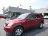 2009 Spicy Red Kia Sorento LX 4x4 #95946405