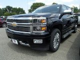 2014 Black Chevrolet Silverado 1500 High Country Crew Cab 4x4 #95946024